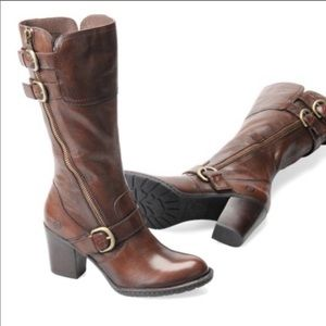 Born Treddy Distressed Leather Boots